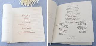 Wedding Programs Examples Programs Examples Traditional And Typewriter Font