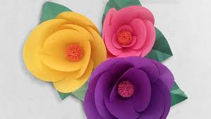 paper flowers how to make paper flowers step by step with robert mahar