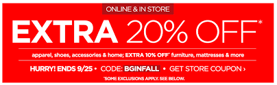 jcpenney coupon code extra 20 off everything