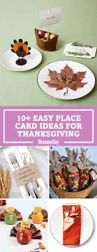 10 diy thanksgiving place cards craft ideas for fall table name cards