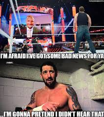 Bad News Barrett Meme - 3manbooth triple h should leave the bad news to bad news