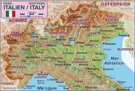 udine italy map map of northern italy italy map in the atlas of the world