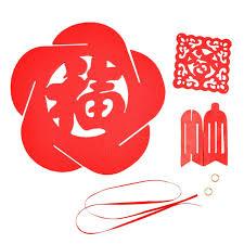 new year supplies bright flower pendant decoration hollow pendant
