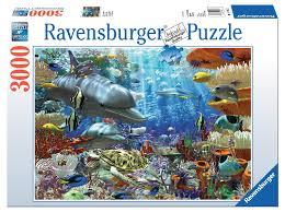 oceanic wonders puzzle 3000 pieces ravensburger 17027 eugene