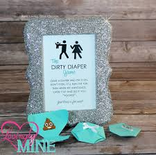 dirty diaper game light teal diaper pins and matching silver
