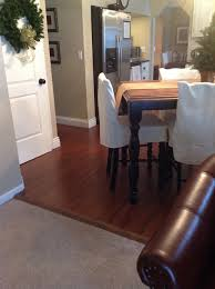 how to transition wood flooring between rooms