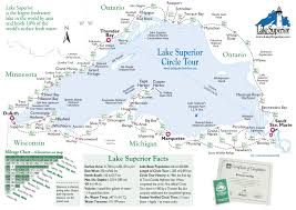Porcupine Mountains State Park Map by Maps U2013 Lake Superior Circle Tour