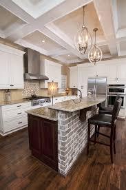 kitchen with brick backsplash kitchen opulent stainless steel cabinets for outdoor kitchens