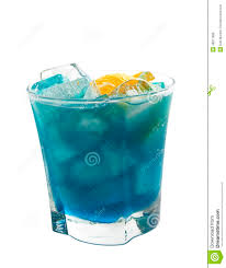 blue cocktails cocktails collection deep blue sea stock photo image 48817899