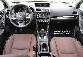 Saddle Interior 2017 Subaru Forester Interior Photos