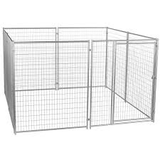lucky dog 6 ft h x 10 ft w x 10 ft l modular welded wire kennel