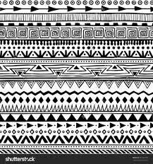 nail aztec patterns to draw search