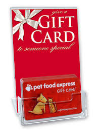 gift card display cards only acrylic gift card display