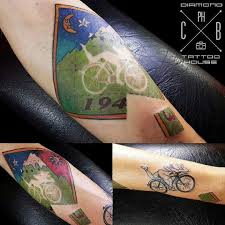 albert hoffman bike tattoo
