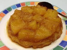 cuisiner l ananas tarte tatin à l ananas frais papa en cuisine