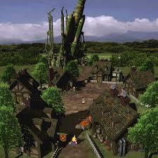 Ffvii World Map by Rocket Town Final Fantasy Wiki Fandom Powered By Wikia