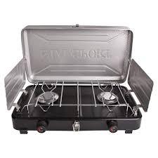 Two Burner Gas Cooktop Propane Stoves U0026 Grills Stansport Com