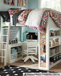 Free Loft Bed Plans Queen by Loft Bed With Playarea On Top Queen Loft Bed Do It Yourself
