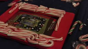 diy candy cane picture frame christmas craft youtube