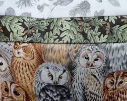 Owls Home Decor Owl Bedding Etsy