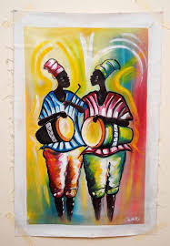 Home Decoration Paintings African Drummer Unframed Http Afrimood Com Products Home