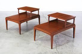lane mid century modern coffee table mid century