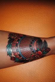 shin tatoos seashell tattoo knock knock the devil