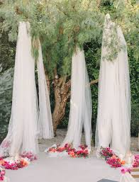wedding backdrop fabric 10 creative ways to use fabric in your wedding green wedding shoes