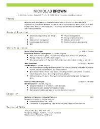 Nursing Jobs Resume Format by Likable Resume Examples For Students With Little Experience