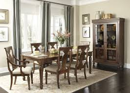 Liberty Furniture Dining Table by Furniture Fabulous Dining Table Brown Color And White Curtain