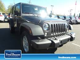 jeep wrangler dark grey jeep wrangler unlimited in doylestown pa fred beans chrysler