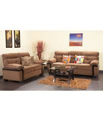 Purchase Sofa Set Online In India Hometown Amos Fabric 3 2 Sofa Set Buy Hometown Amos Fabric 3 2
