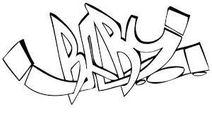 pin graffiti letters coloring pages street pinterest bebo pandco