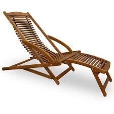 chaise longue transat transat chaise longue bois mobilier de jardin achat vente chaise