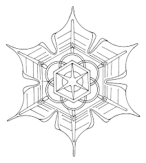 collection of coloring b w insects cartoon style inside snowflake