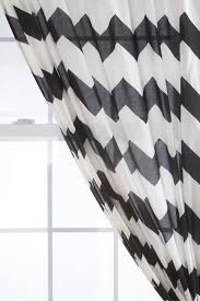 Crate And Barrel Curtain Rods by Decorating Enchanting Gray Chevron Curtains With Cheap Curtain
