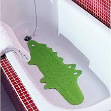 ikea patrull bathtub mat crocodile green infant child