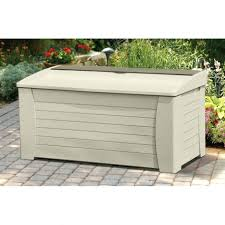 Rubbermaid Storage Bench Rubbermaid Storage Bench Patio Outdoor Pool L Resin Box Large