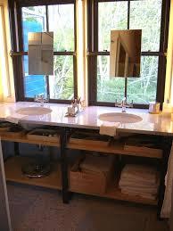corner bathroom cabinets hgtv