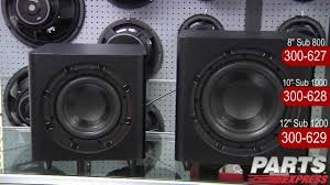 best home theater subwoofer 2011 see the new dayton audio subwoofers in action youtube