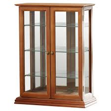 curio cabinet glass corner display cabinet sale with formidable