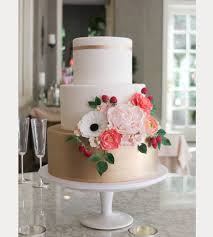 wedding cake flowers wedding cakes with sugar flowers from erica obrien mon