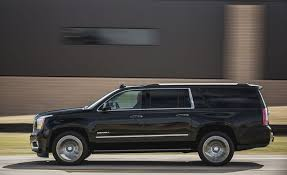 gmc yukon trunk space 2018 gmc yukon yukon xl interior review car and driver