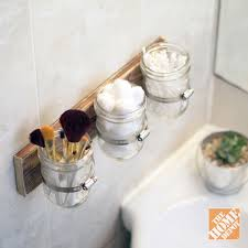 unique bathroom storage ideas 5 clever and affordable storage ideas the home depot clever