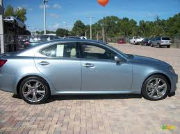 light gray lexus 2009 lexus is 250 in breakwater blue metallic 090110 jax