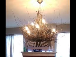Diy Rustic Chandelier Cool Diy Twig Chandelier As Your Residence Equipments Along With A