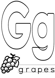 lowercase letter g coloring page batch coloring