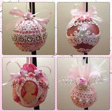 handmade shabby chic ornaments shabby chic decor