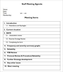 employee meeting template employee job and motivation improvement
