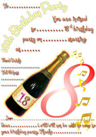 18th birthday party invitations free stephenanuno com